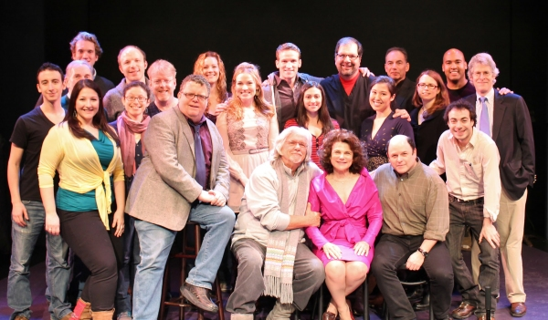 TWO BY TWO with Jason Alexander and Tovah Feldshuh at the York Theatre Company! -