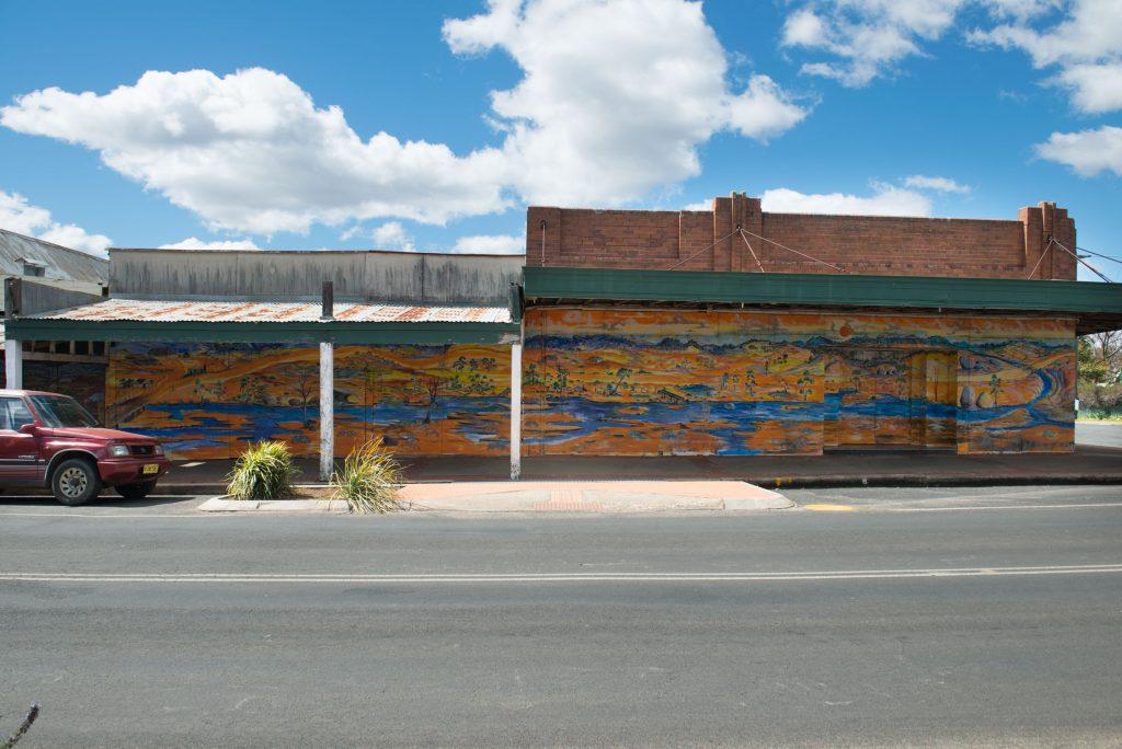 The Tingha mural. photo Alex Wisser