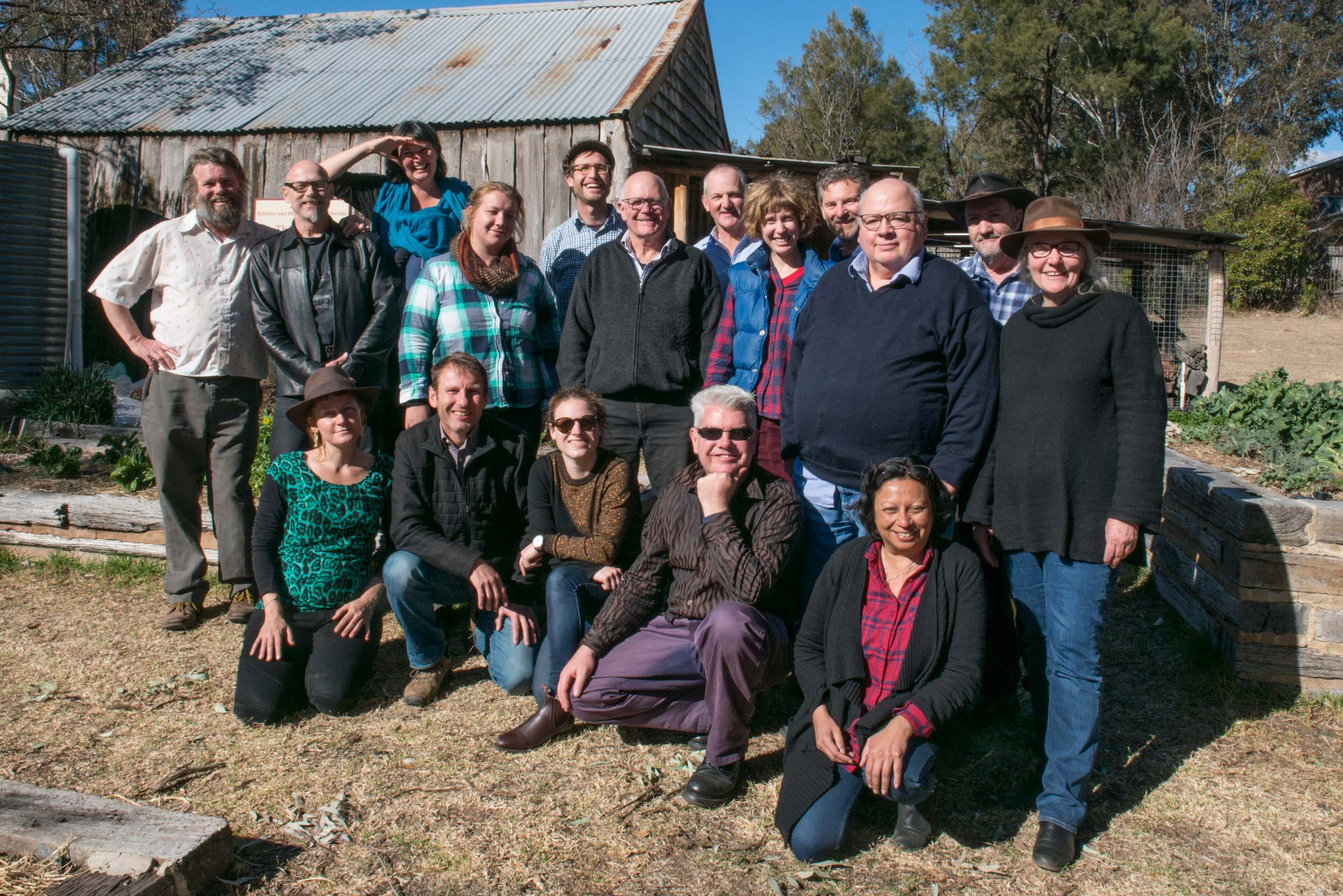 All of us at Rylstone's famous Yum-Cha and Tea House. Thanks to Emma Wisser for a great photo!