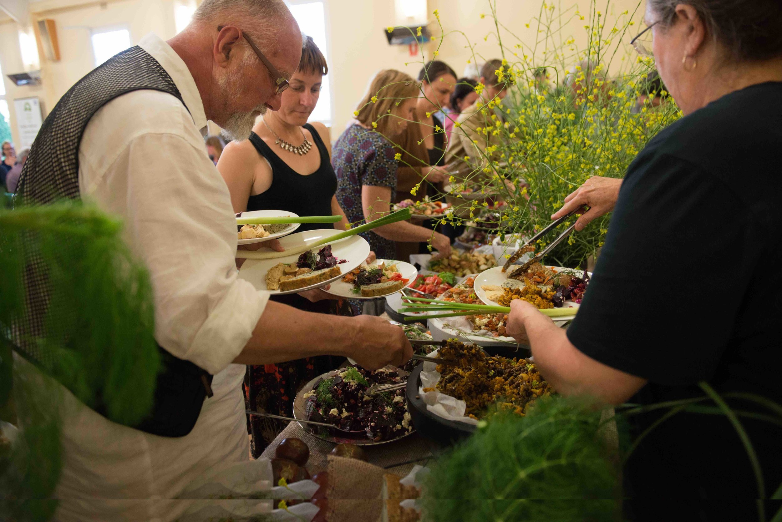 The Foragers' Feast at Futurelands2, Kandos, 2016.