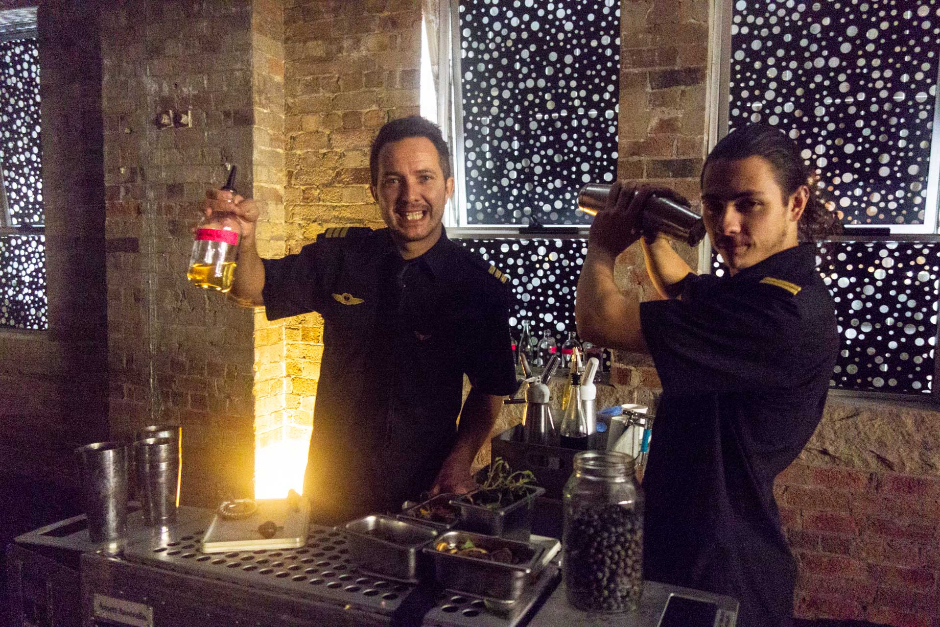 and thankyou to these guys at  Trolly'd  who worked with our very own Diego Bonetto to produce some brilliant foraged weed infused cocktails:
