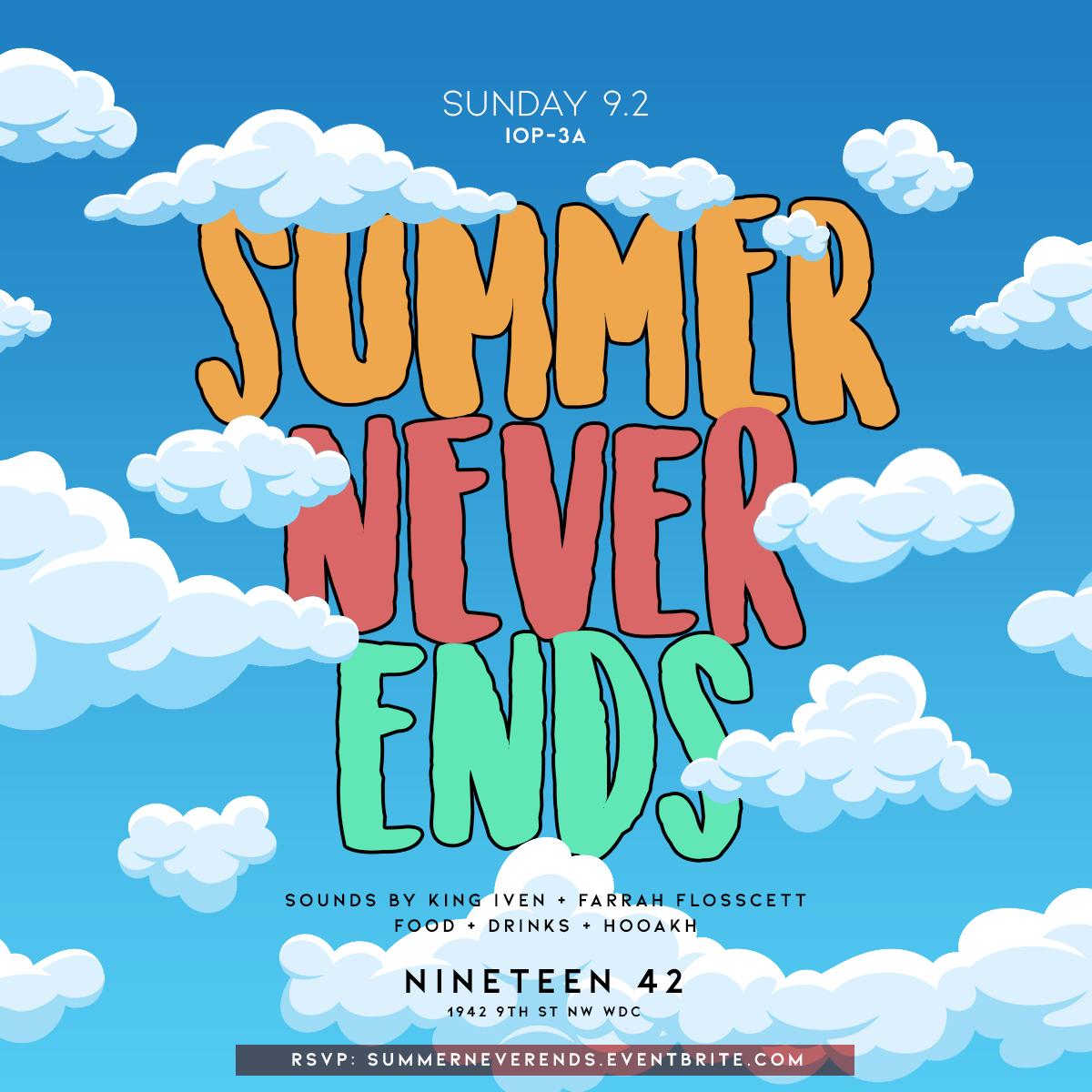 Summer Never Ends.JPG