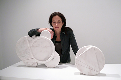 Alicia Ehni, Turning Stone series 2013, marble, dimensions vary.