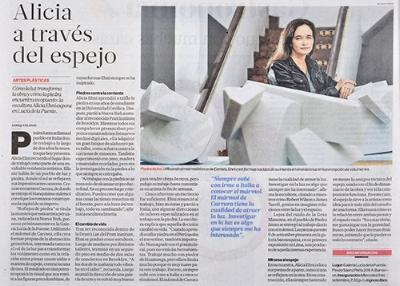 El Comercio, Review 2015   Alicia a través del espejo   Por Enrique Planas