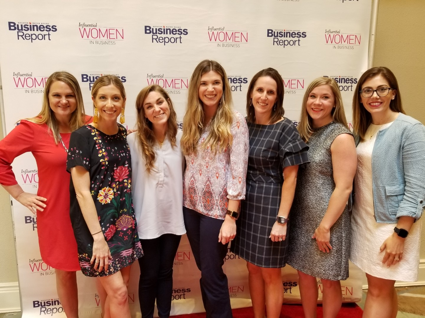 Maggie, Melissa, and a group of women from Faulk & Winkler attended the GBR Business Report's Influential Women in Business Lunch which featured the 2019 Influential Women in Business Honorees