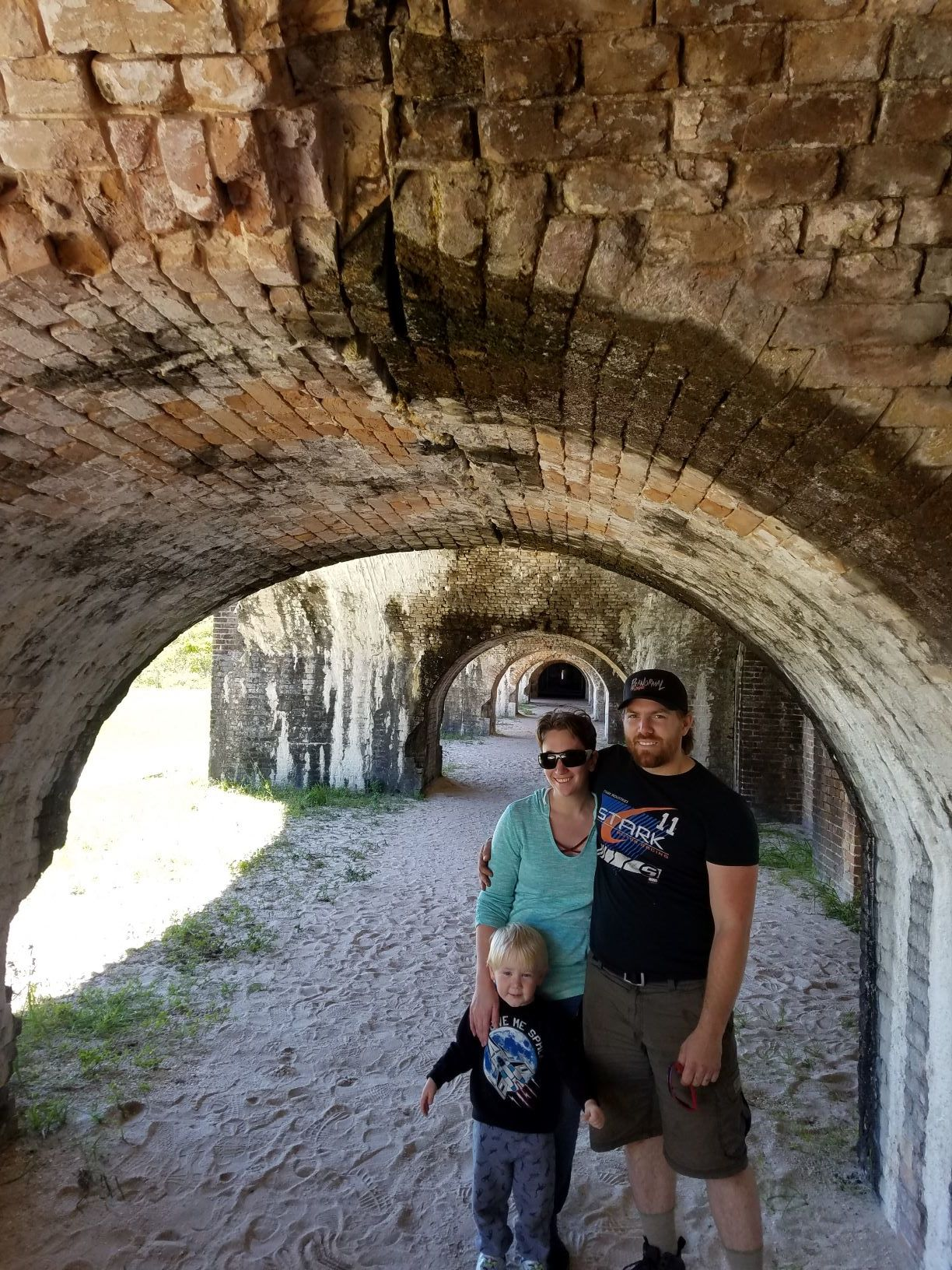 Amy and her family visited Fort Pickens in Pensacola, FL!