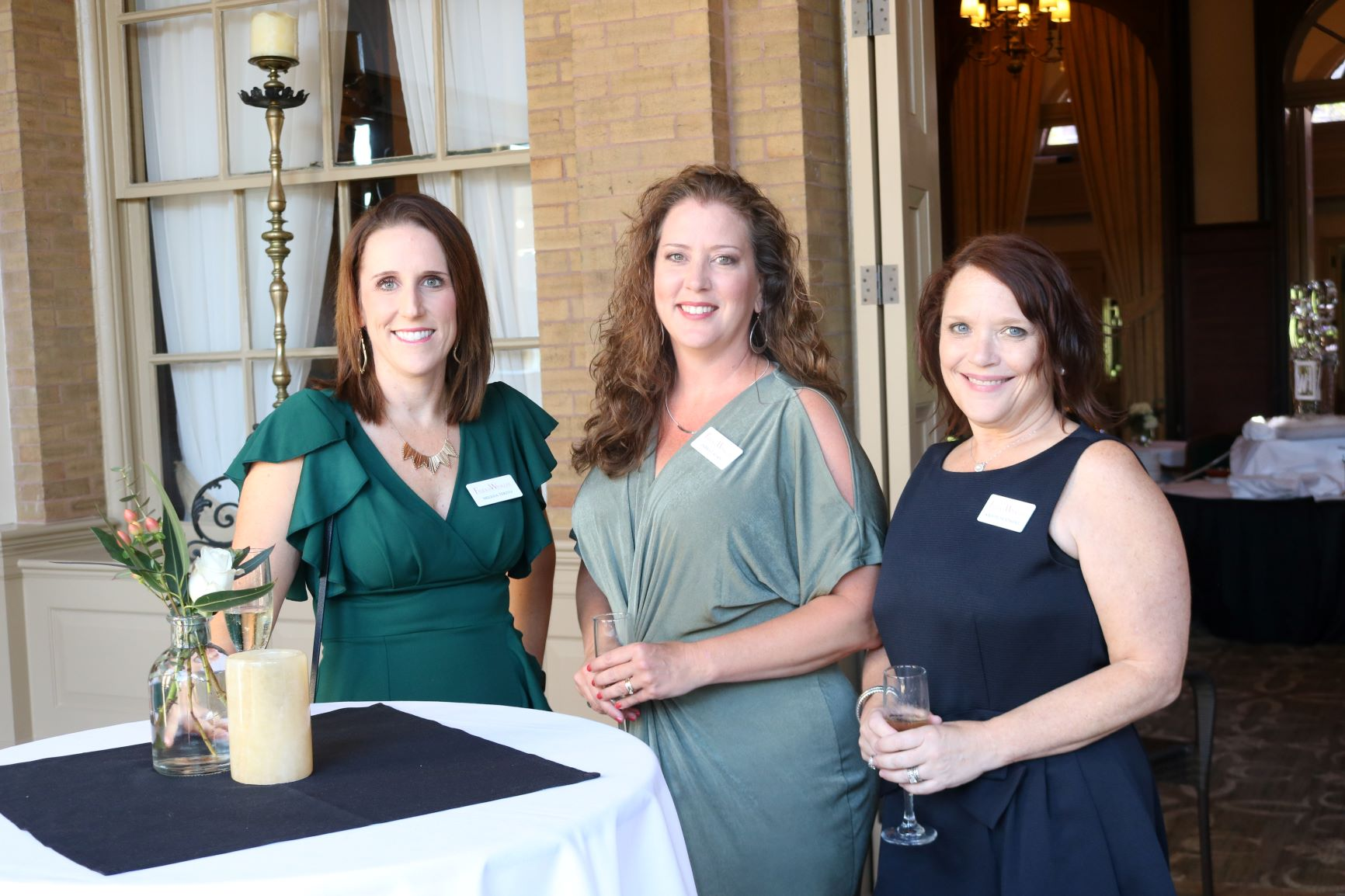 Faulk & Winkler celebrated 35 years of service this May! Melissa, Debra, and Kristie are pictured at the anniversary celebration.
