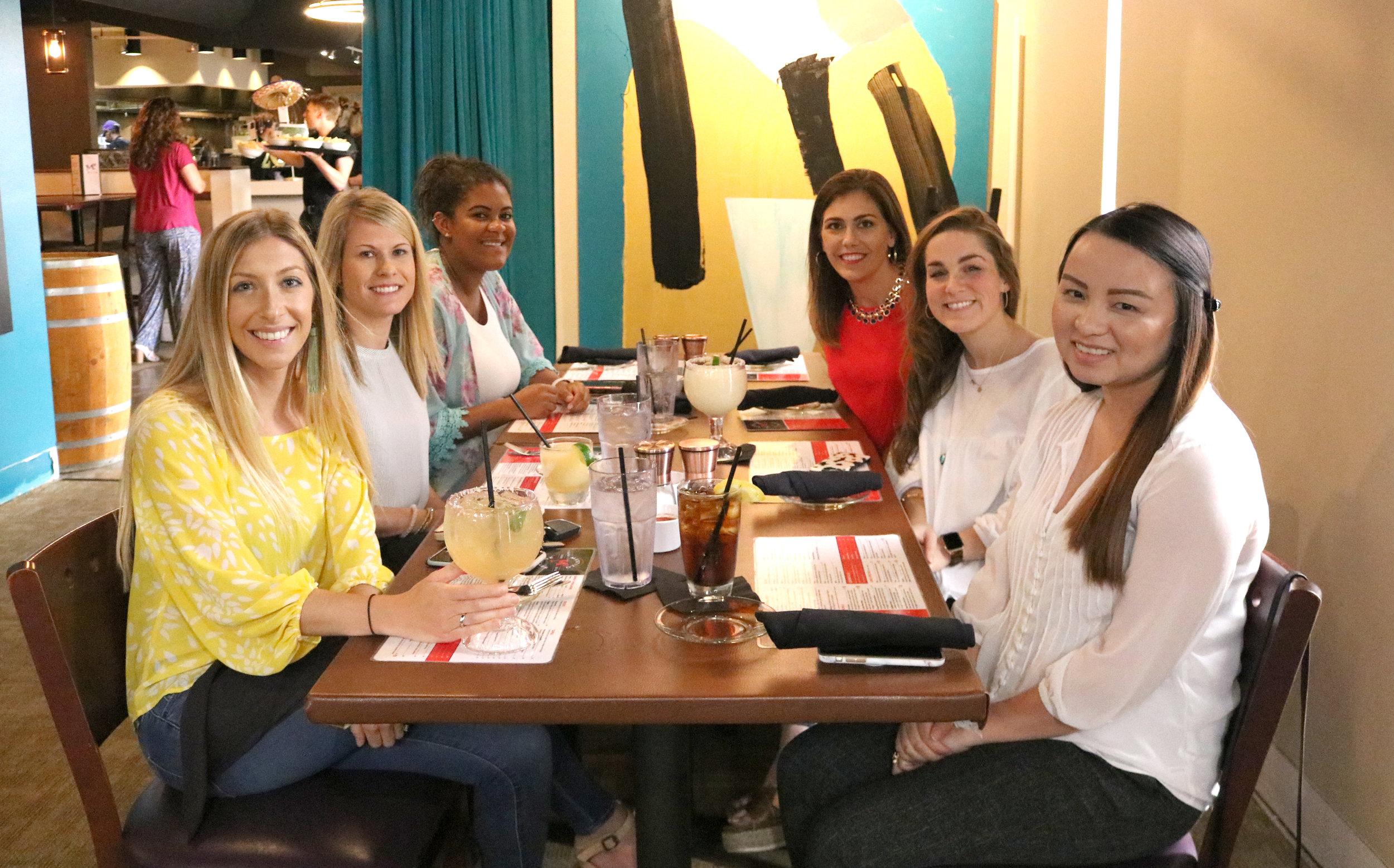 Cameron, Megan, Maia, Lauren S, Taylor P, & Kathy