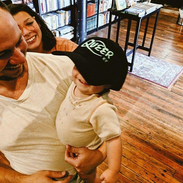 @queerkentucky you've got a new brand ambassador 👶🎉 DONT FORGET All #queerkentucky shirts are still $10
