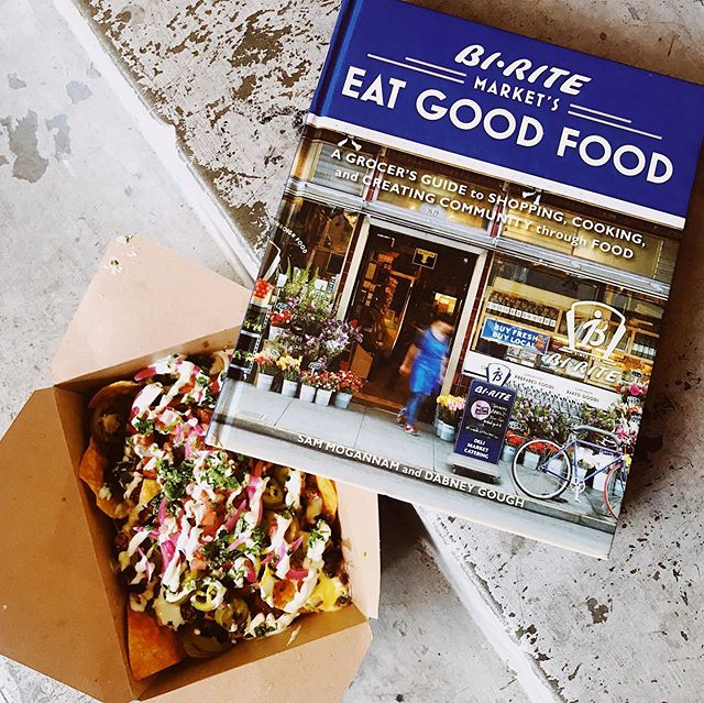 Nourishing mind and body with a little help from @galaxiebar 💕🌮 stop by the store and grab a bite in #nulu tonight!