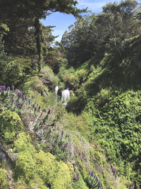 Esalen waterfall