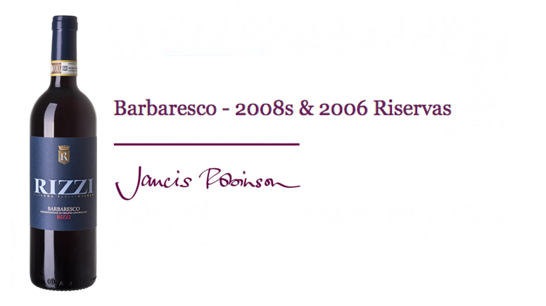 Jancis Robinson´s Web Site - Barbaresco catches up, Barbaresco 2008