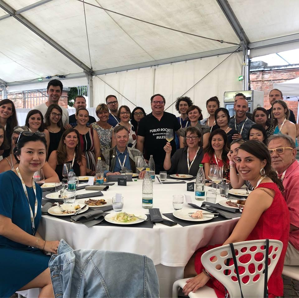 Barbaresco Masterclass at Progetto Vino #Collisioni Barbaresco's Team with Ian D'Agata barolo.jpg