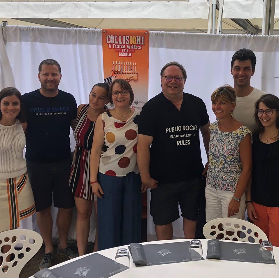 Barbaresco Masterclass at Progetto Vino #Collisioni Barbaresco's Team with Ian D'Agata colliosioni festival.jpg