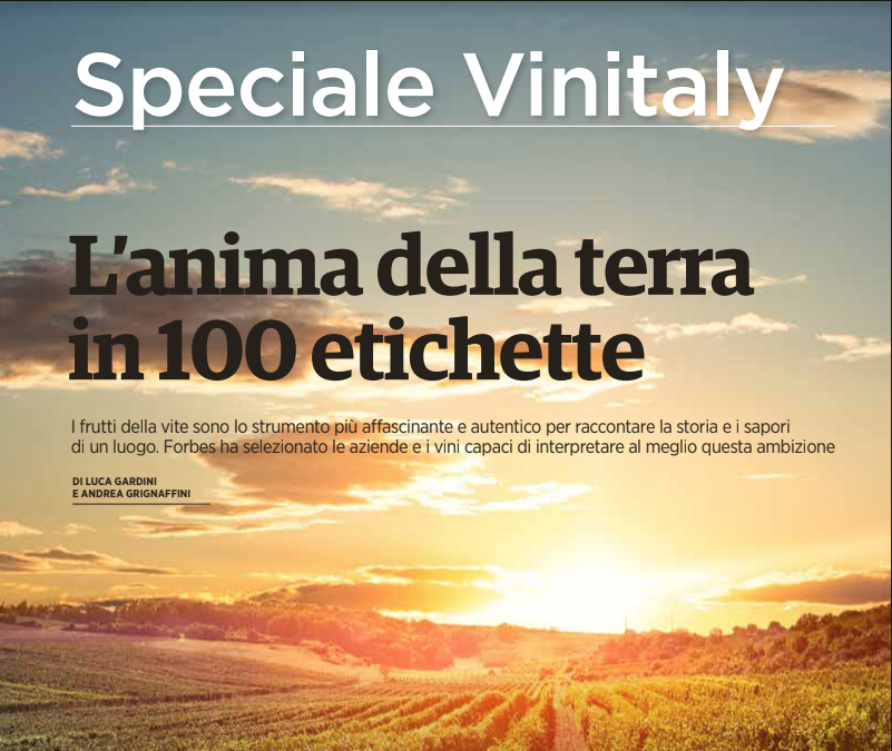 FORBES ITALIA VINI CANTINA RIZZI TREISO