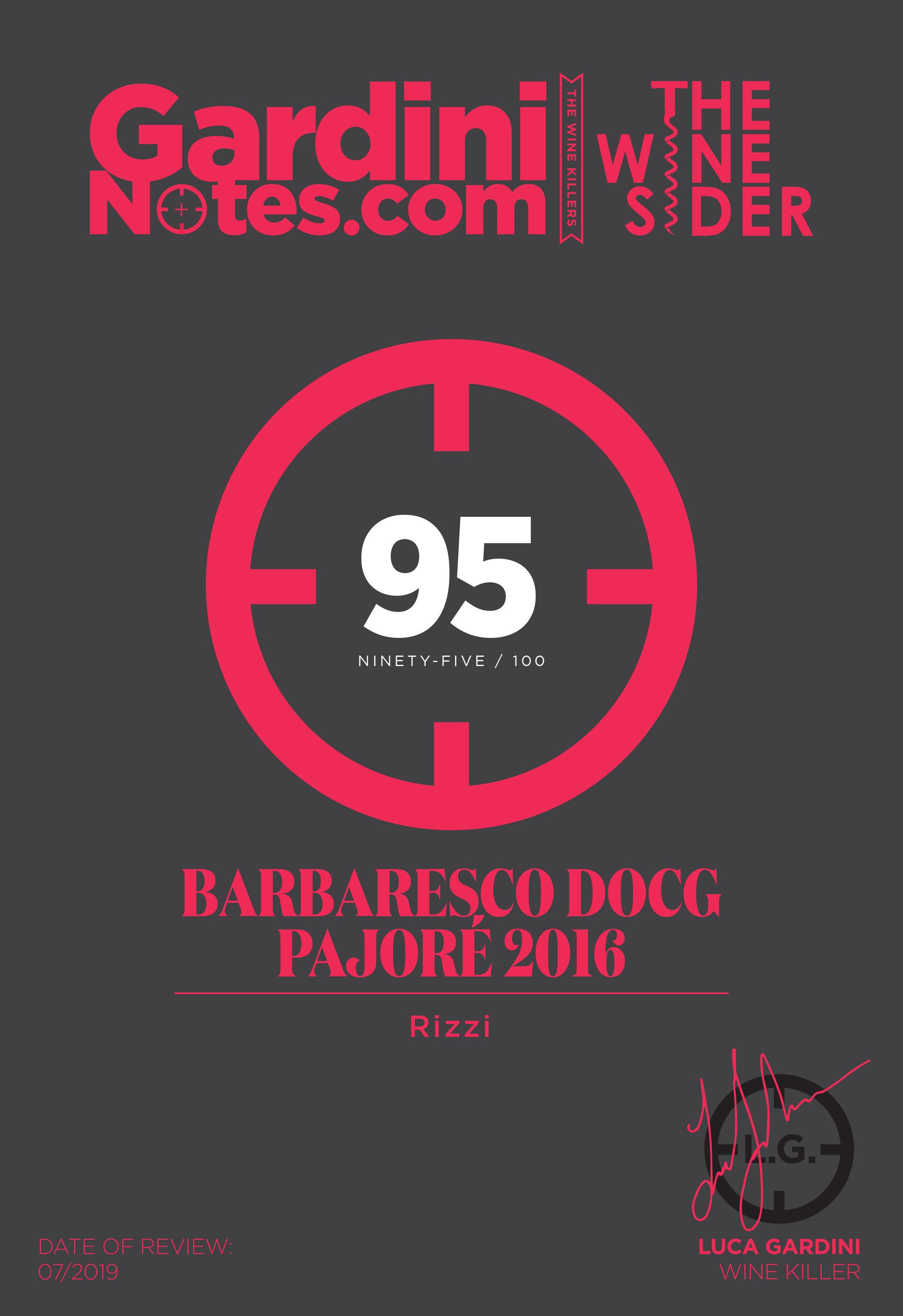 Gardini Notes Barbaresco Rizzi pajorè 2016 punteggio 95.jpg