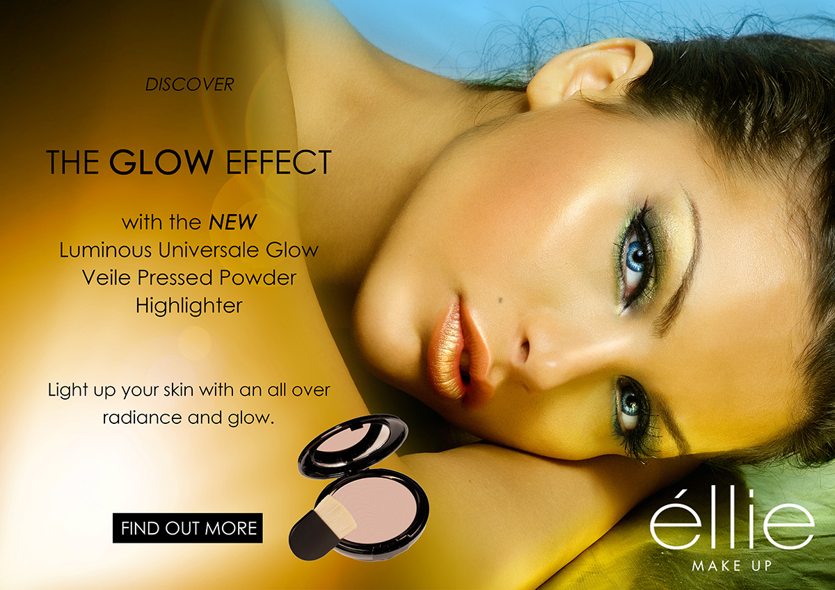 Luminous Universale Glow Veile Powder Pressed poster with product.jpg
