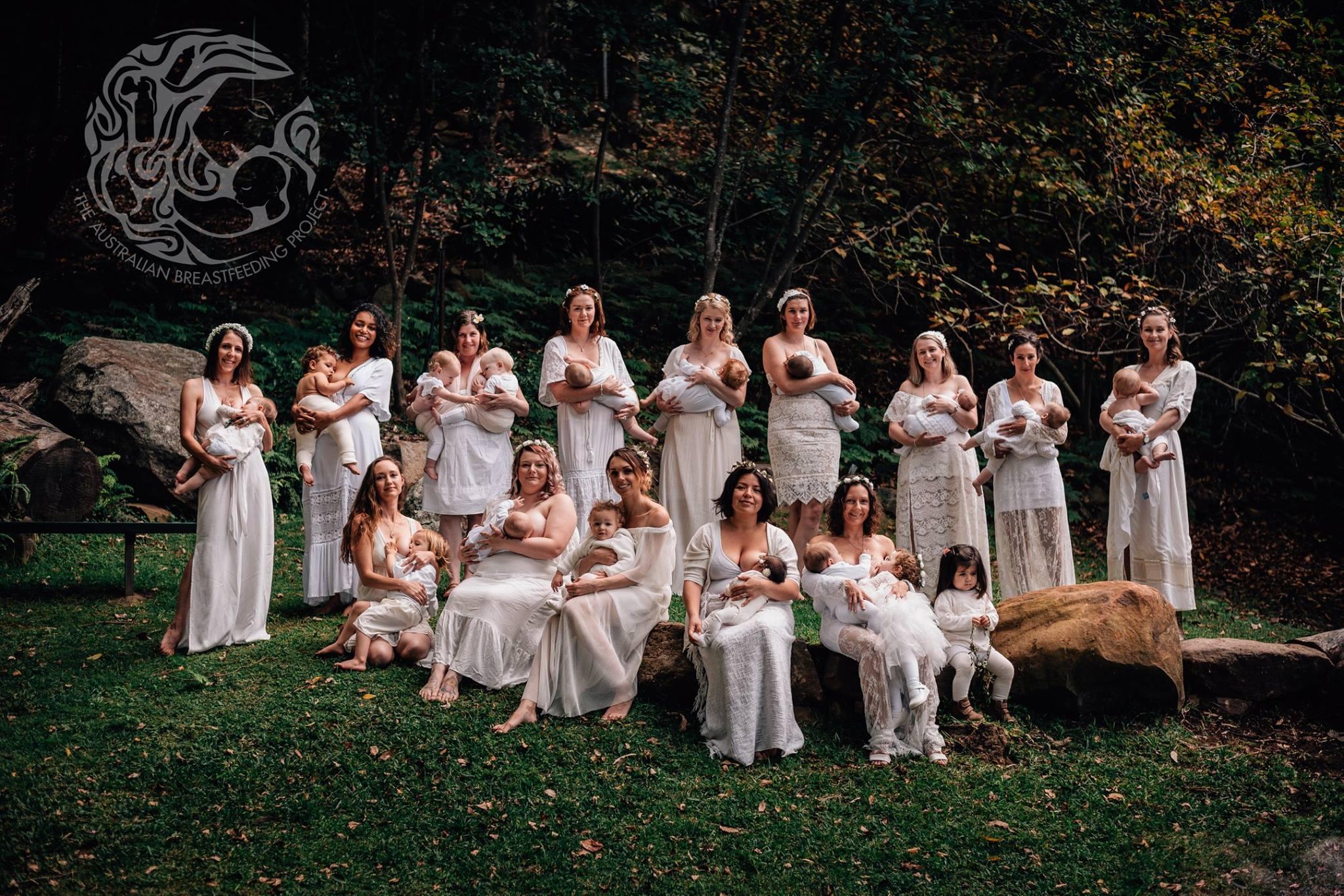 Media photo for the Australian Breastfeeding Project, Illawarra session