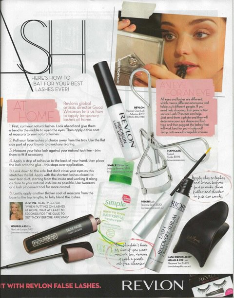 FAMOUS MAGAZINE - Nov 28th 2011  Featuring the Lash Republic Placement Tool & Lash Prescript