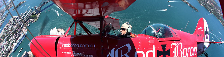 Red Baron Sydney mild Adventure pitts special