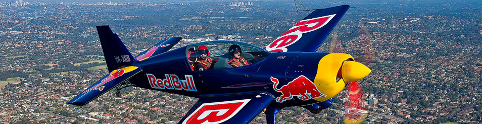 Red Baron Air Race Experience Extra Stunt Plane