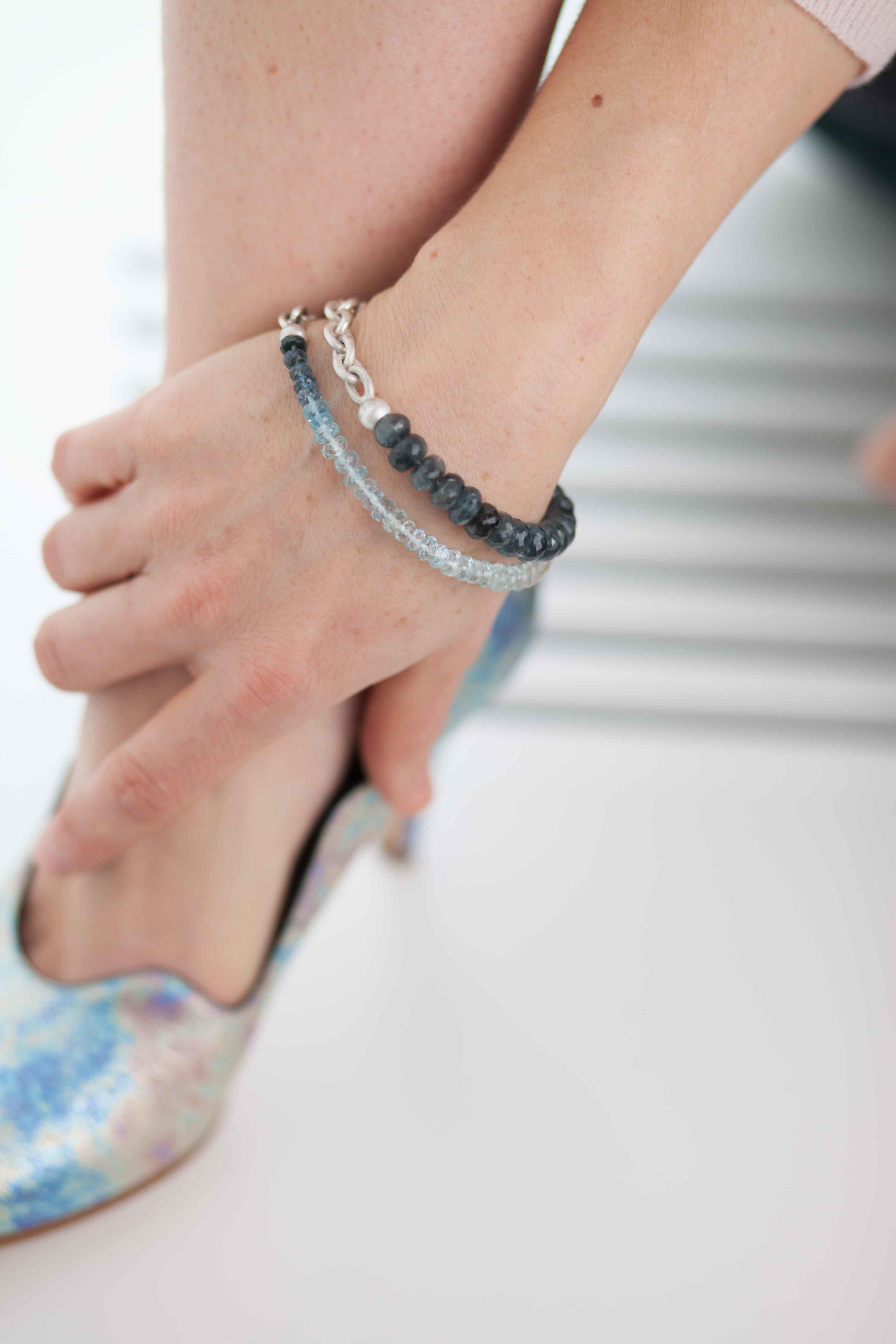 Stone & Metal Bracelet -