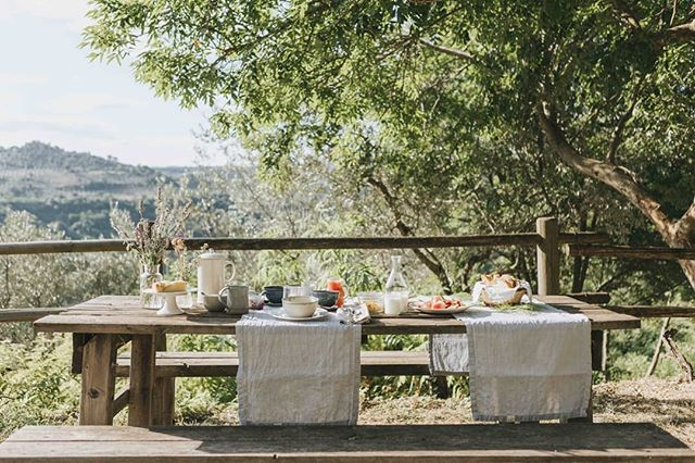 Breakfast under the manna ash. . . 📷 @atelierauthentic  #agriturismo #lemolesulfarfa #slowtourism #breakfastalfresco #aquietplace #simplepleasures #countryliving #valledelfarfa #sabinehills #homemade #summerdaze #theartofslowliving