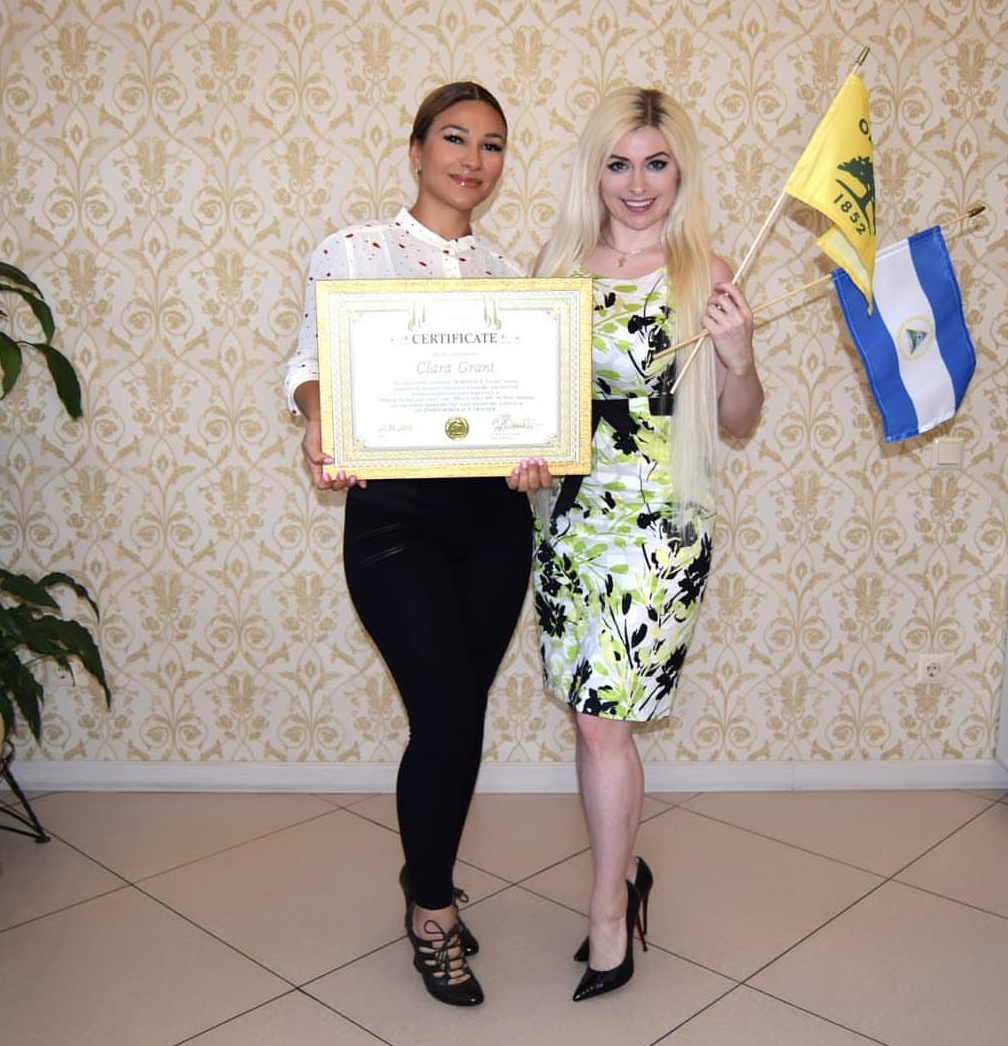 - Clara getting Bordeaux certified in Kazakhstan
