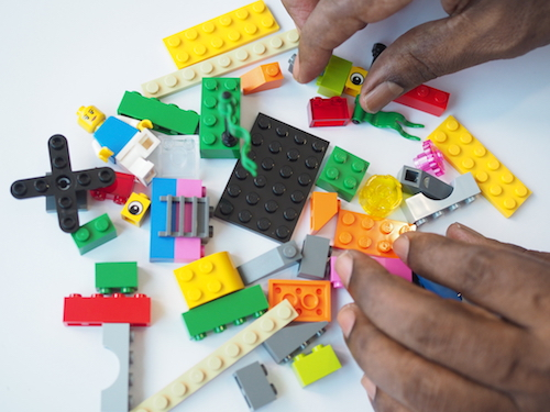 Interactive, Hands-on Elements lsp lego serious play workshop fun effective reflective results focused