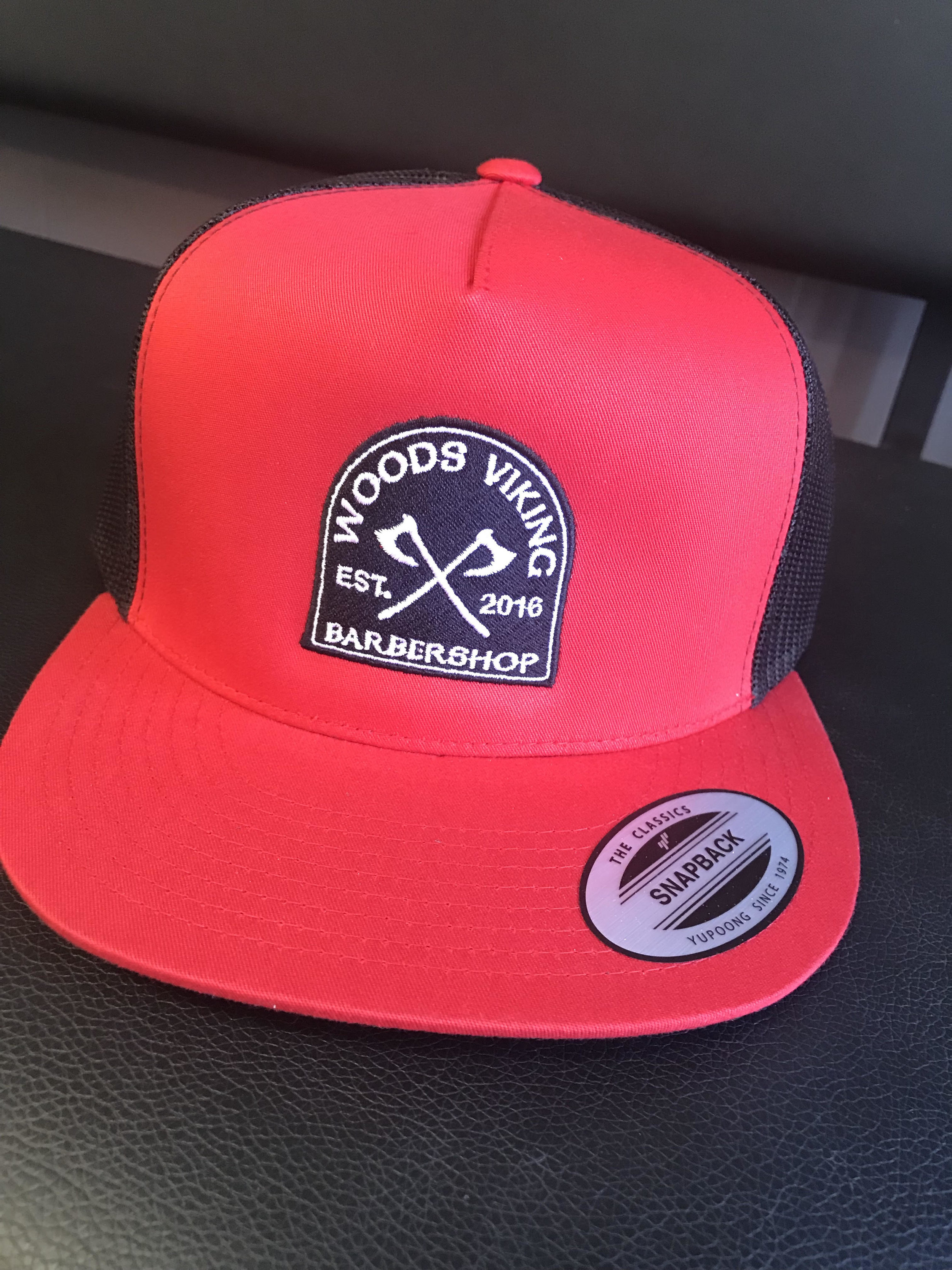 Products and apparel. - I have created designs for all sorts of different product and apparel. My most proud design was the patch for the hat (show above) this became very popular for the WoodsViking clientele and has generated a lot of sales.