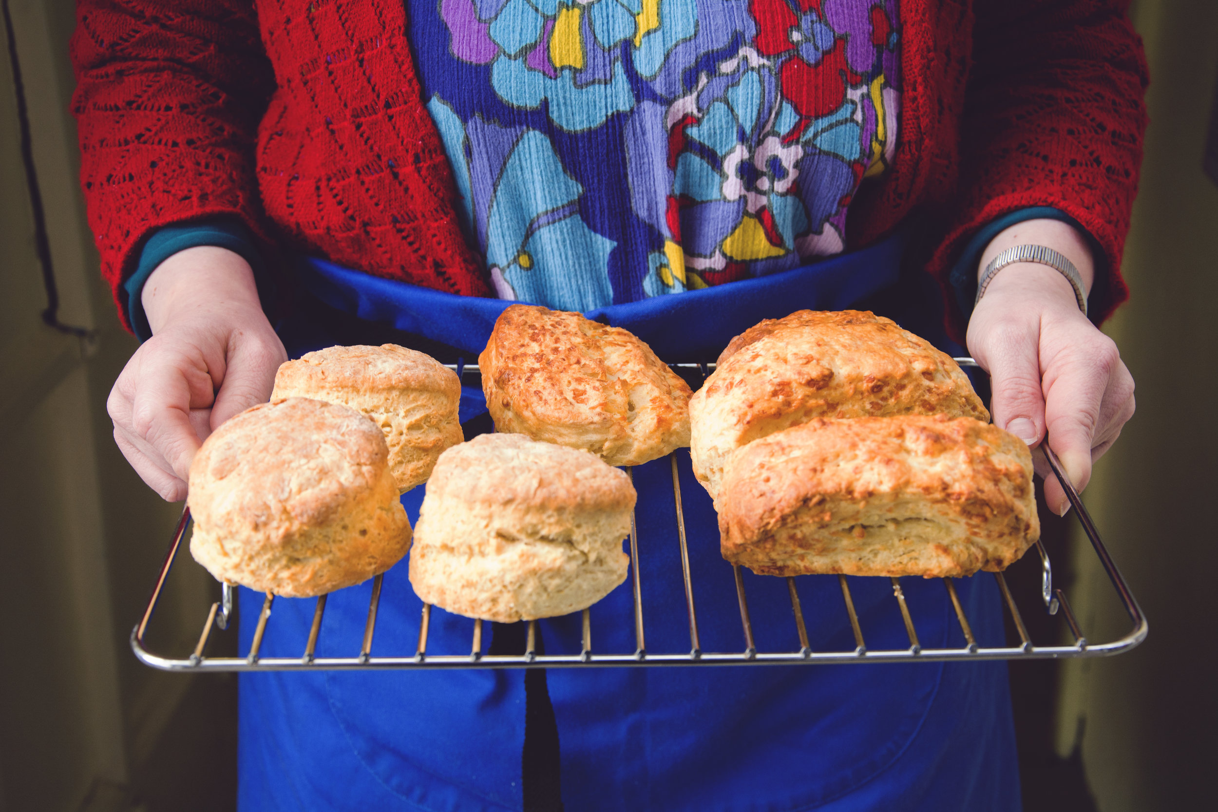Homebaked Scones at The Working Together Cafe copyright Ashleigh Cadet