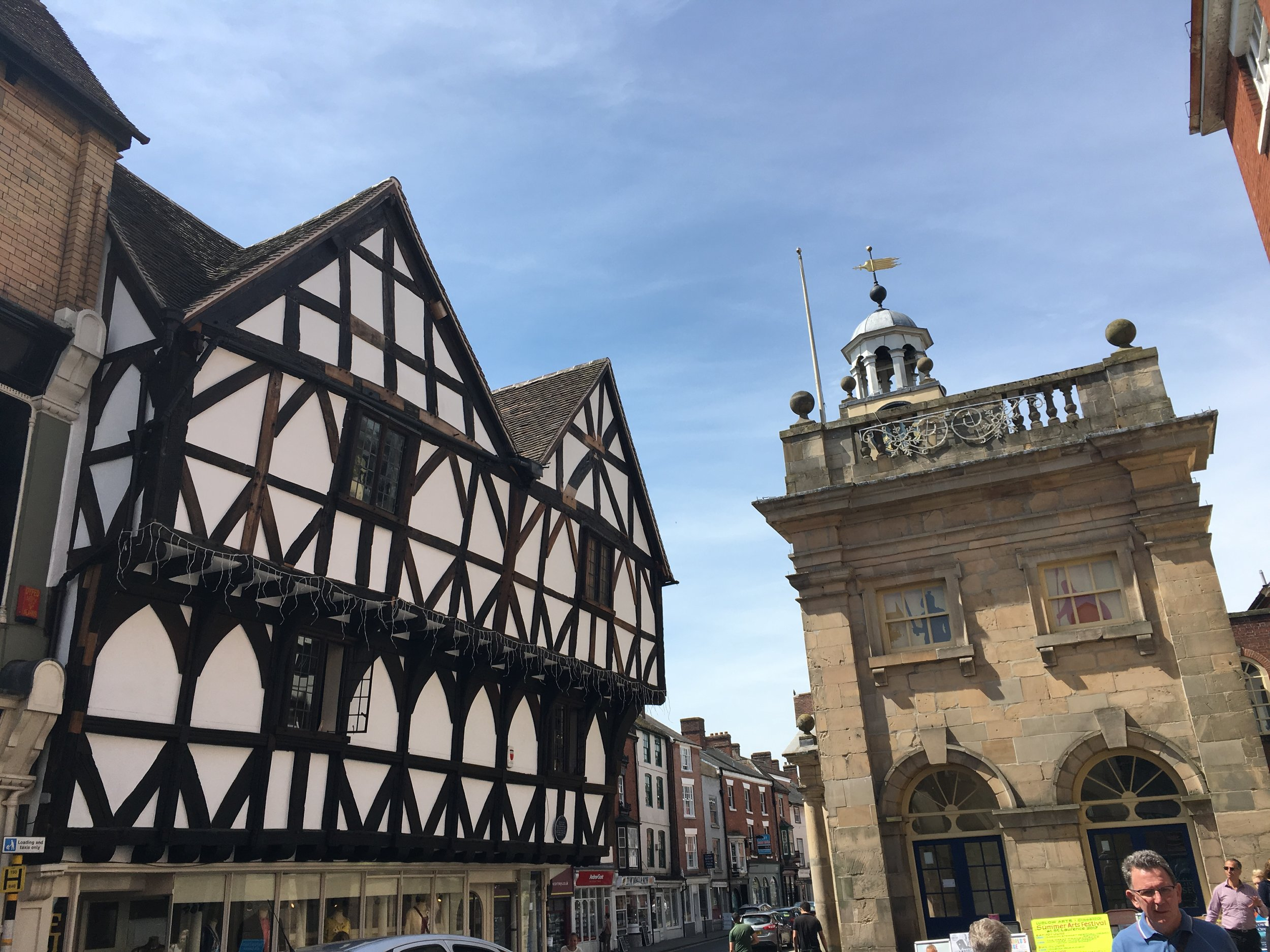 The Museum viewed from King Street,Ludlow