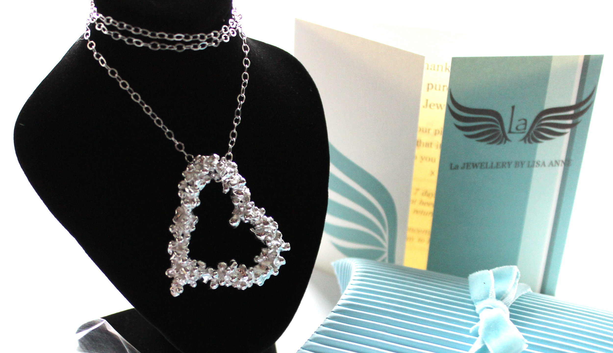Large Fair Trade Heart copyright La Jewellery