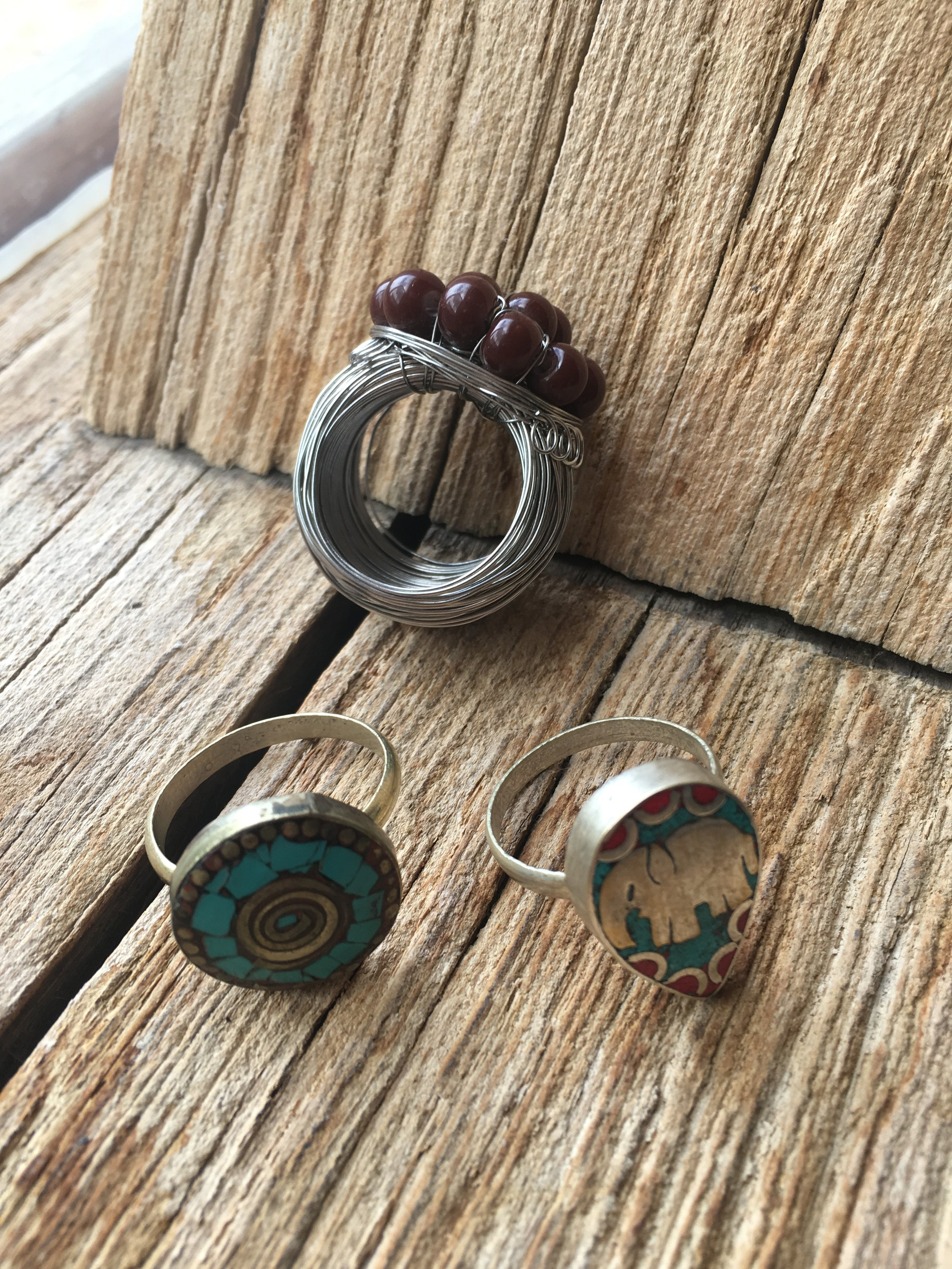 Kaboodle - For something a little different check out the collection of jewellery, clothing and soft furnishings from India and Nepal. Rings here are from £7.50 - £10.