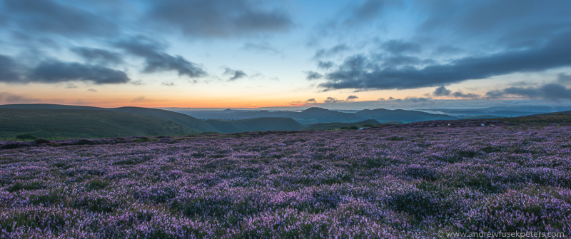 Shropshire inspires: View across Long Mynd Photo: andrew fusek peters