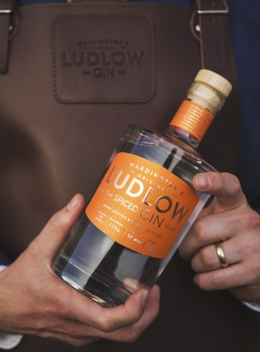 Ludlow's own artisan distillery photo credit: Ashleigh Cadet
