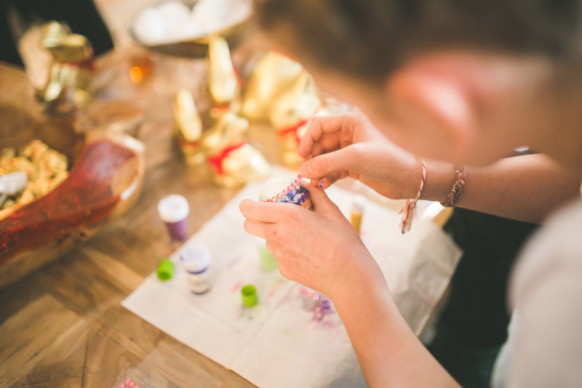 Getting stuck on Easter crafts…