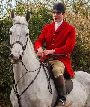 Henry Bailey, master of Ludlow Hunt