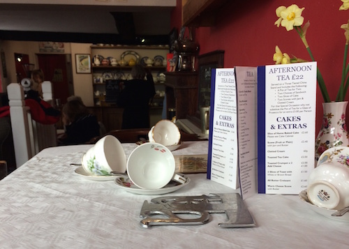 A quaint spot for your high tea at Carvell's