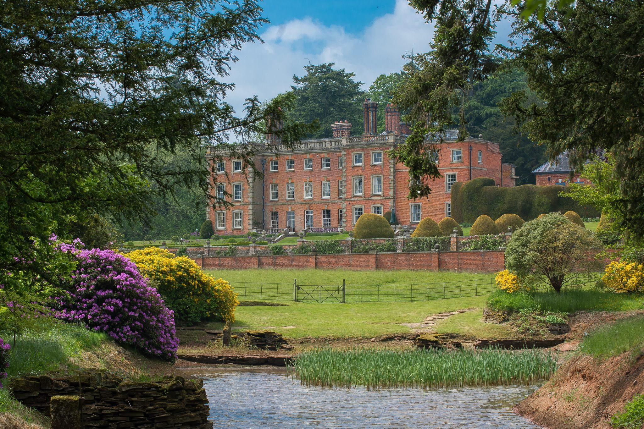 The impressive grounds of downton estate