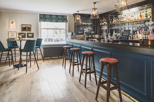 Have a seat…the Bar at The Clive Arms