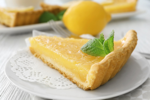 Desert island choice? A simple lemon tart