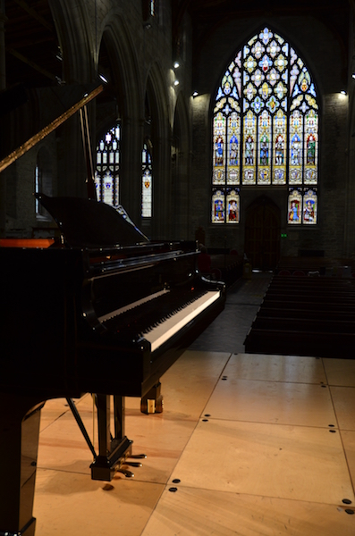 The Steinway at St Laurence's