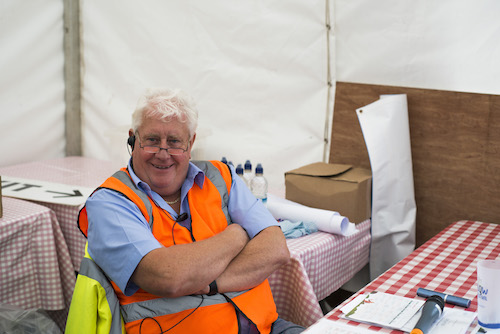 Here's Phil, just one of LFF's army of volunteers