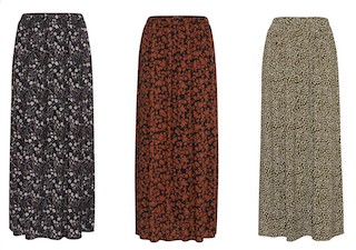 Ichi Maxi Skirt - £29.95 – Available in 3 beautiful prints!