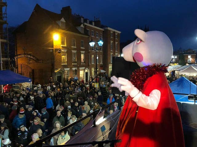 A 2018 Christmas in Ludlow