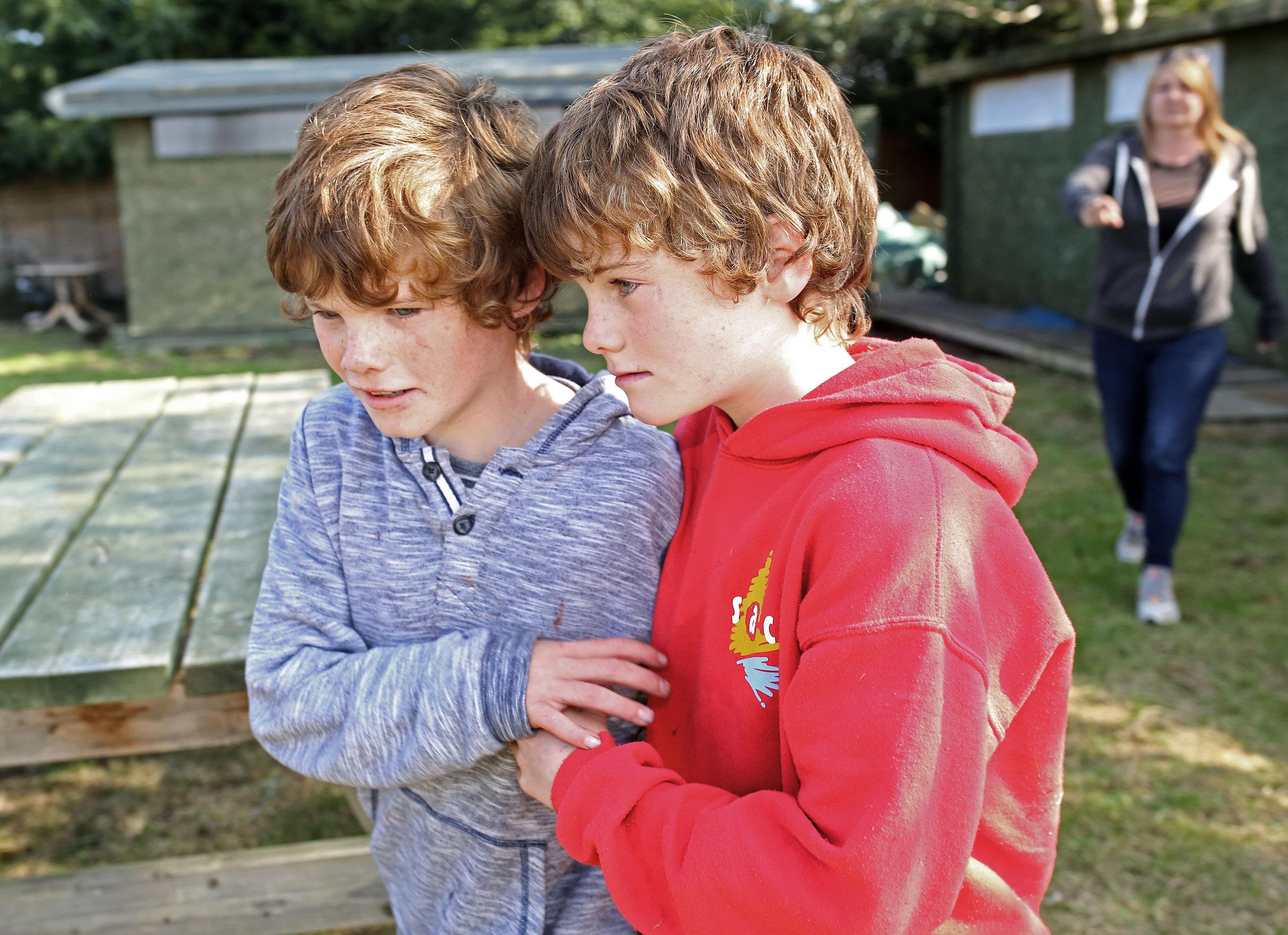 Autistic Twins