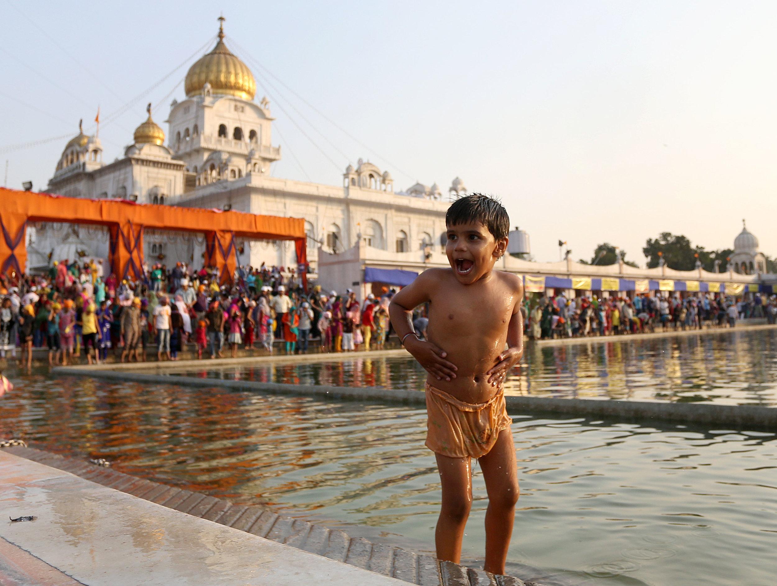 Guru Nanak Celebrations in India
