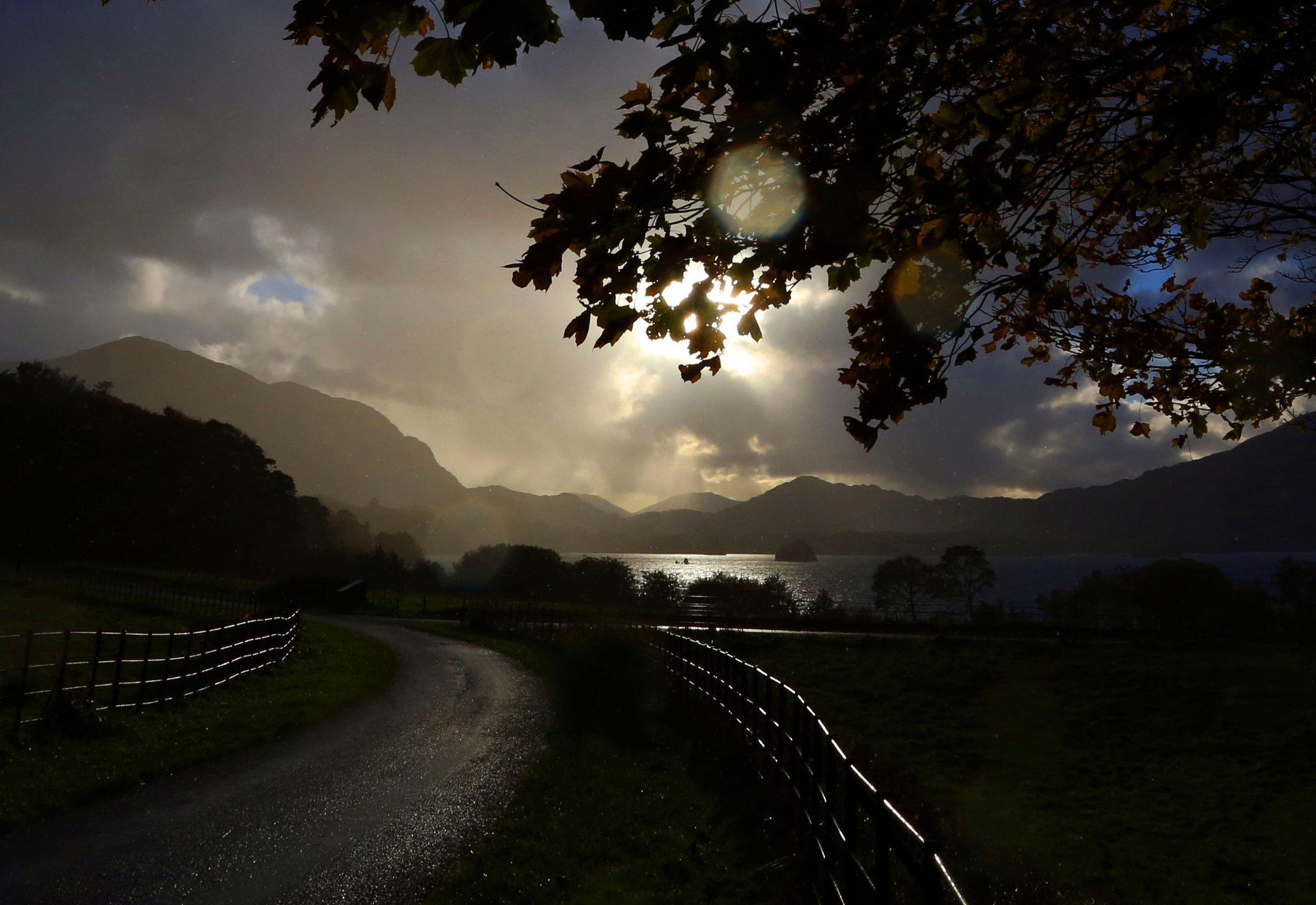 Muckross Lake in Killarney National Park, Ireland