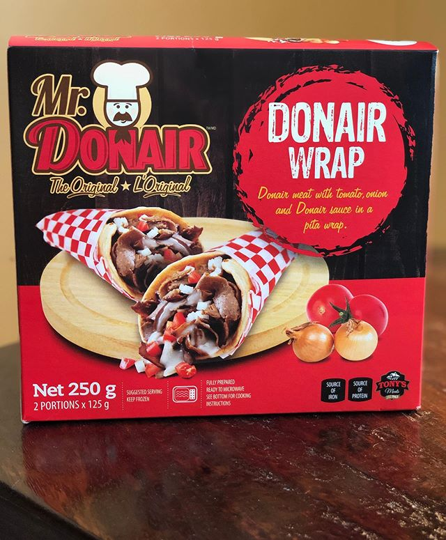 We are loving the new & improved 3D font on our Donair wrap packaging! Our graphic designer Ken Webb of Halifax is always going the extra mile for us! Thanks, Ken! #localbusiness #mrdonair #donaircountry